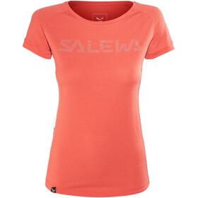 Salewa Pedroc Delta Dry Naiset Lyhythihainen paita , punainen
